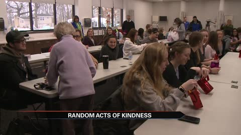 Primrose Retirement Community in Mishawaka performs random acts...